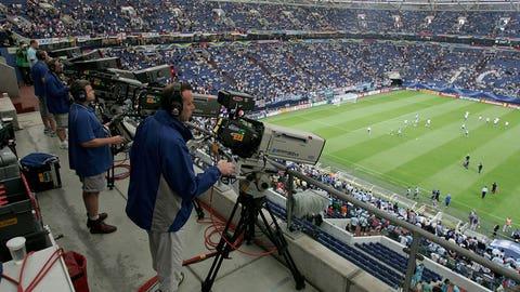 TV broadcast, sponsorship deals raise eyebrows (1990, 1992)