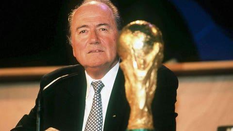 Beginning of Blatter's reign as FIFA's kingpin (1998)