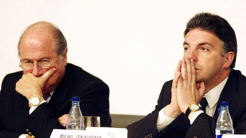 Blatter's use of absolute authority (2002)
