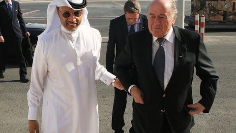 Mohammed bin Hammam, fourth presidential term (2011)