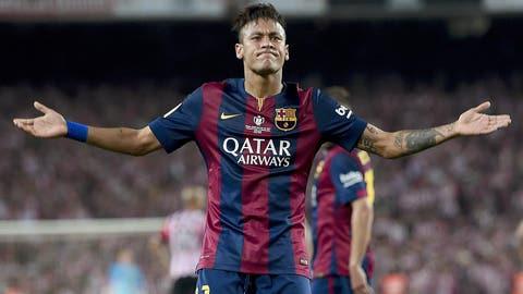 Neymar, Barcelona (F)