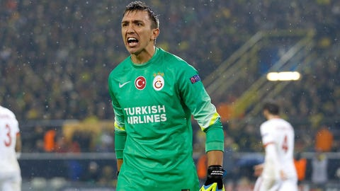 Fernando Muslera, GK, Galatasaray