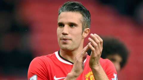 Robin van Persie, Striker, Manchester United
