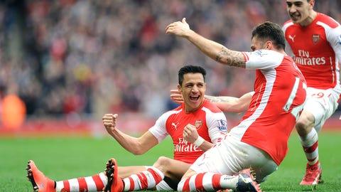 Alexis Sanchez, Midfielder, Arsenal