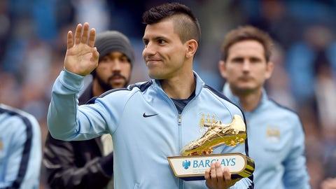Sergio Aguero, Striker, Manchester City