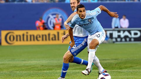 Diamond sparkles for NYCFC against out-of-sorts Montréal