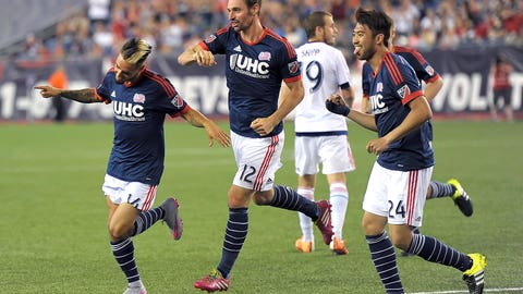 Precision in midfield allows Revs to end winless drought