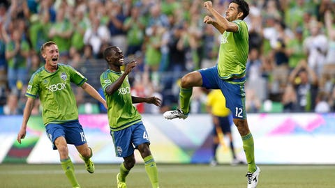 Seattle is the best team in the league … right now