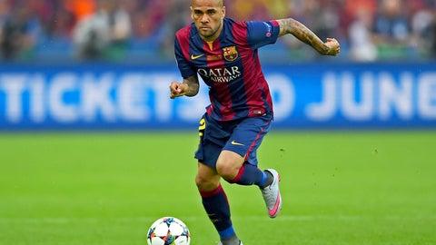 Dani Alves: Barcelona (D)