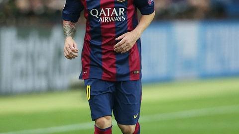 Lionel Messi: Barcelona (F)