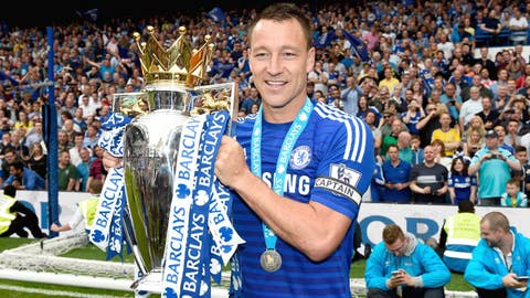 May 2015: One more time, Terry is a Premier League champ