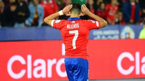 AML: Alexis Sanchez (Chile)