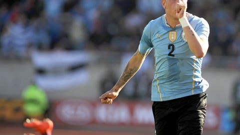 CB: Jose Maria Gimenez (Uruguay)