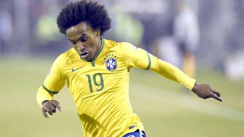 AMR: Willian (Brazil)