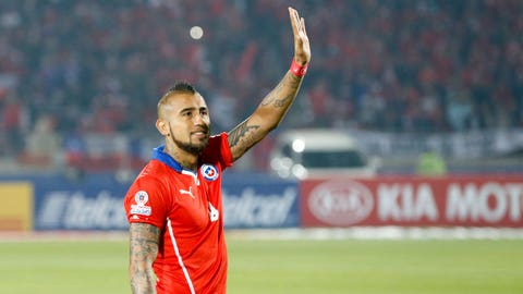 AMC: Arturo Vidal (Chile)