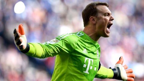 Manuel Neuer: Bayern Munich (GK)