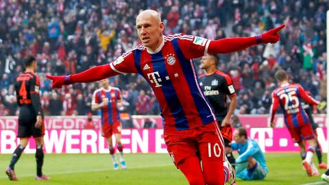 Arjen Robben: Bayern Munich (F)