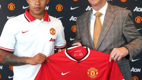 Memphis Depay, Forward, Manchester United