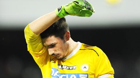 Simone Scuffet, GK, Udinese