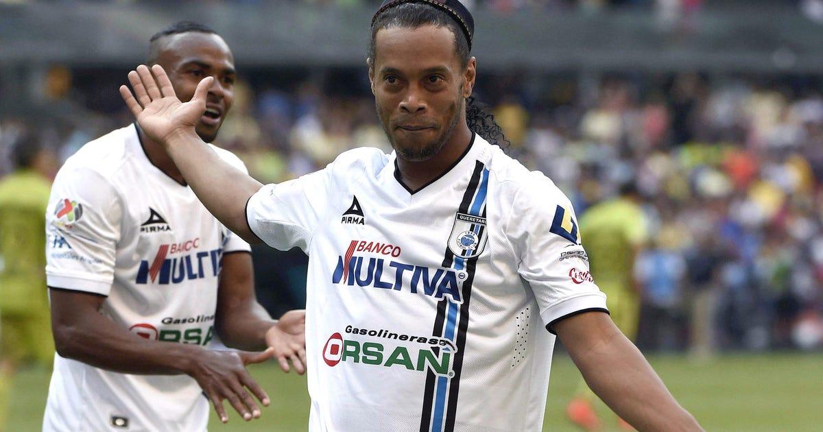 bc8cf7a6d24 Ronaldinho expected to join Eto o at Turkish club Antalyaspor