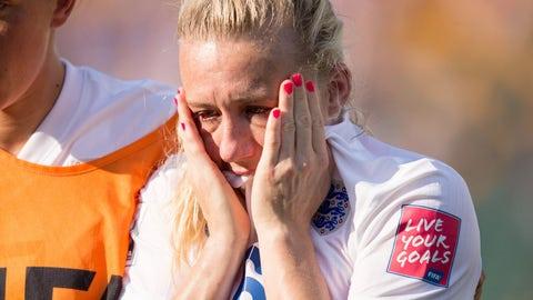 Laura Bassett, Japan vs. England, 2015 Women's World Cup