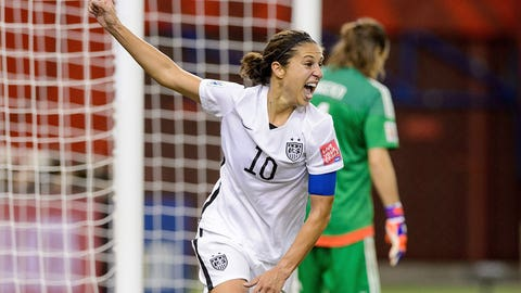 Carli Lloyd, the focal point