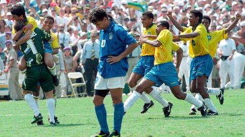 Roberto Baggio, Italy vs. Brazil, 1994 Men's World Cup Final