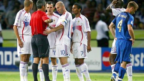 Zinedine Zidane, Italy vs. France, 2006 Men's World Cup Final