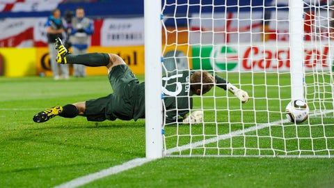 Robert Green, England vs. USA, 2010 Men's World Cup
