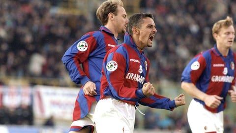 Roberto Baggio (AC Milan to Bologna)