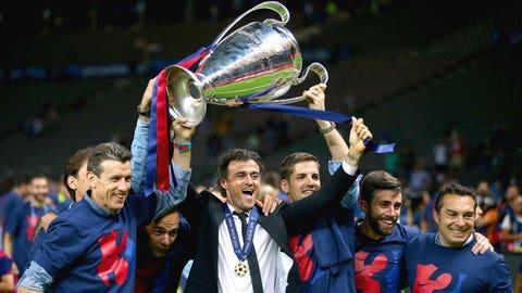 Luis Enrique, Barcelona (La Liga)