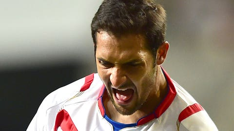 Costa Rica midfielder Celso Borges
