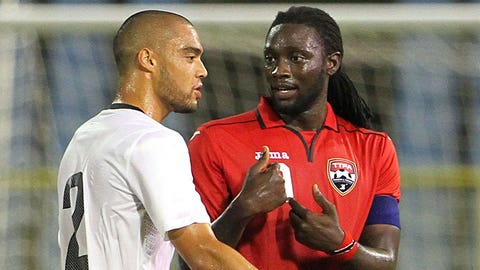 Trinidad and Tobago forward Kenwyne Jones