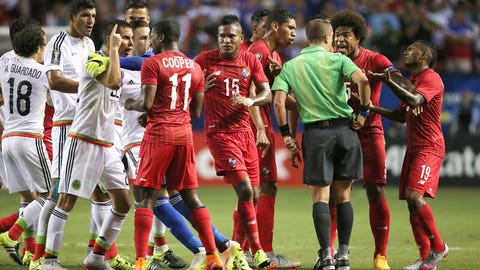 Tempers flare up