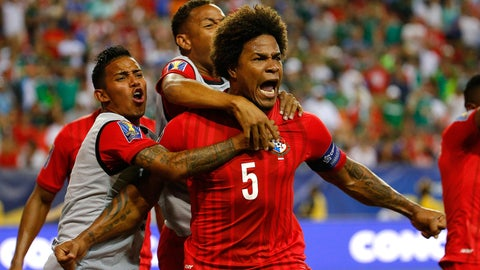 Panama - 5 points