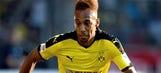 Aubameyang happy at Dortmund and dismisses transfer talk