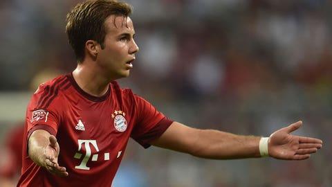 Mario Goetze, M, Bayern Munich