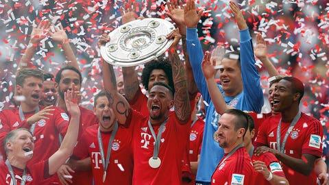 Bayern Munich v Hamburg (FSNs, FS2, YouTube and FS2GO, 2 p.m. ET, Friday)