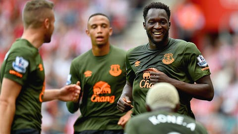 Lukaku makes good with Barkley pulling Everton's strings