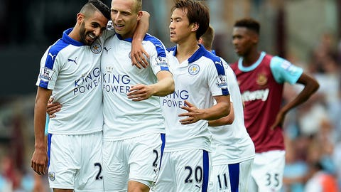 Leicester City off to dream Premier League start