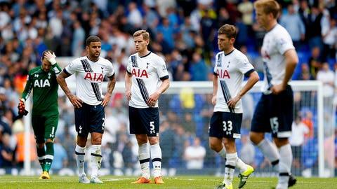 Tottenham cannot make a lead stick