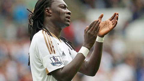 Shelvey, Gomis the difference again for Swansea City