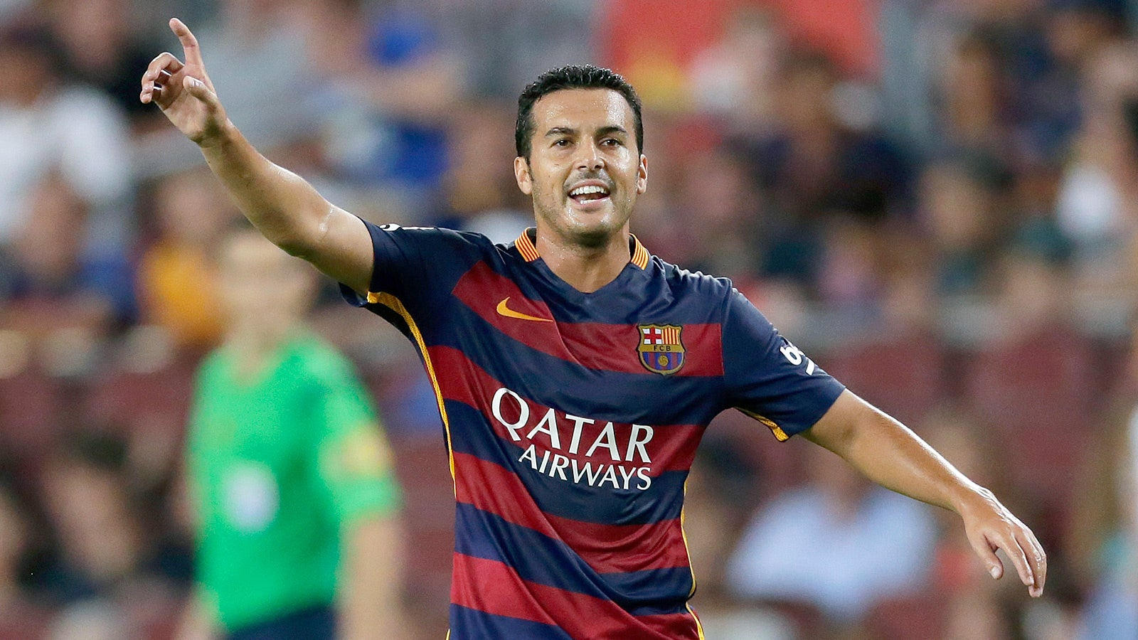 Report: Barcelona striker Pedro agrees switch to Man United