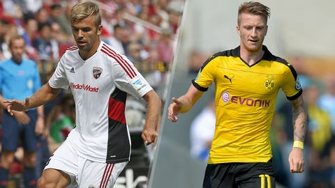 Ingolstadt vs. Borussia Dortmund (Sunday, 9:30 a.m., FOXSports1)