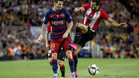 Athletic Bilbao vs. Barcelona (Sunday, 12:30 p.m., beIN)