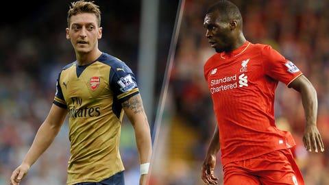 Arsenal vs. Liverpool (Monday, 3 p.m., NBCSN)