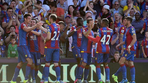 Crystal Palace collect the spoils ahead of rough stretch