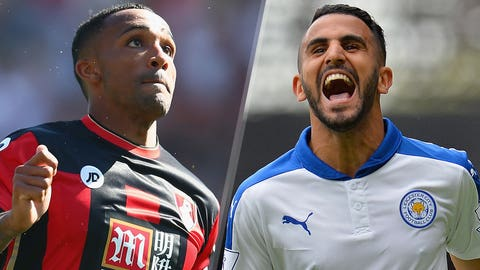 Saturday: Bournemouth vs. Leicester (10 a.m. ET)