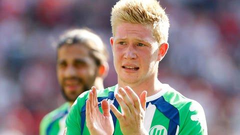 Kevin De Bruyne (£54 million / $82 million, Wolfsburg to Manchester City, 2015)