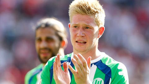Kevin De Bruyne (£54 million / $82 million, Wolfsburg to Manchester City, 2015)